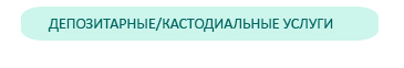 депозитарные/кастодиальные фонды